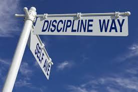 Discipline sign 4