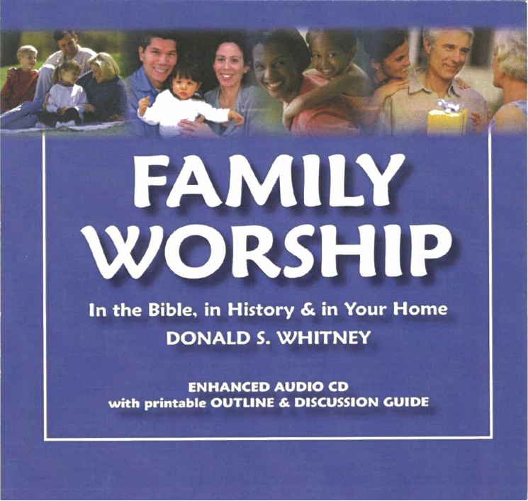 Family Worship CD front cover