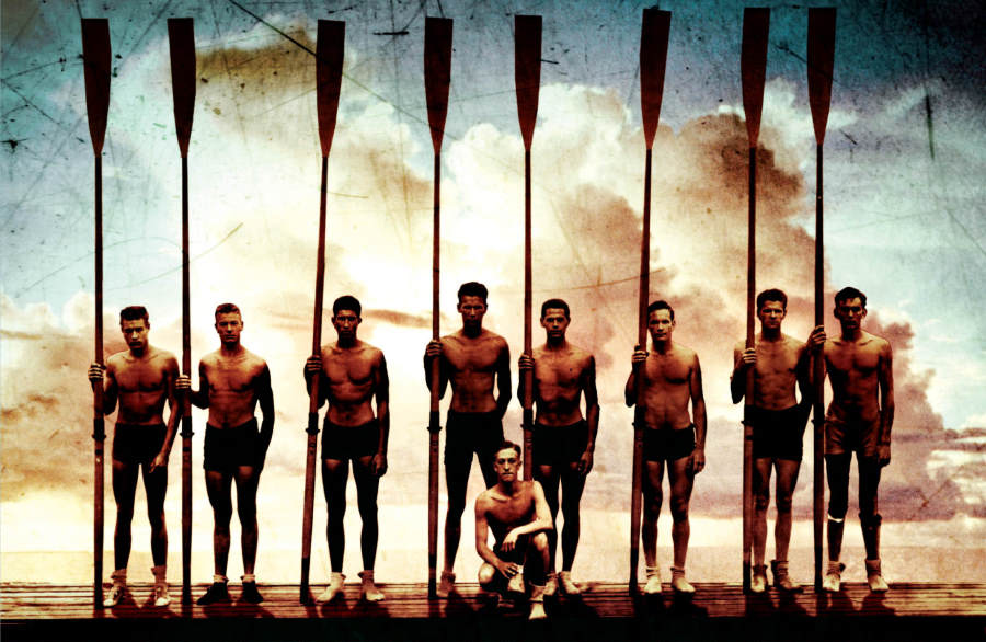 The Boys in the Boat colorized background