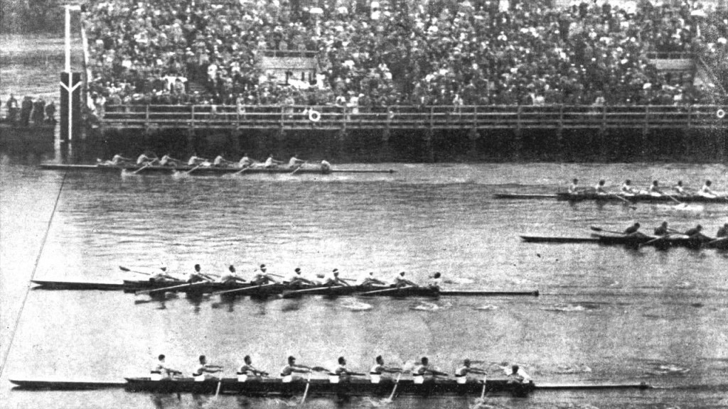 The Boys in the Boat race finish